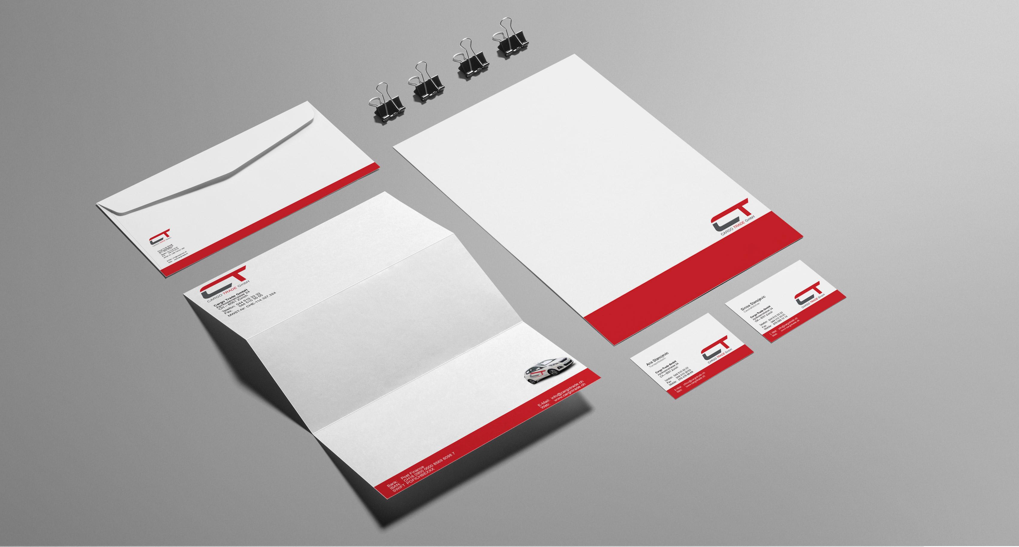 Briefpapier Gestalten Lassen Designer Design Layout